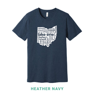 Lake Erie Crew Neck T-Shirt