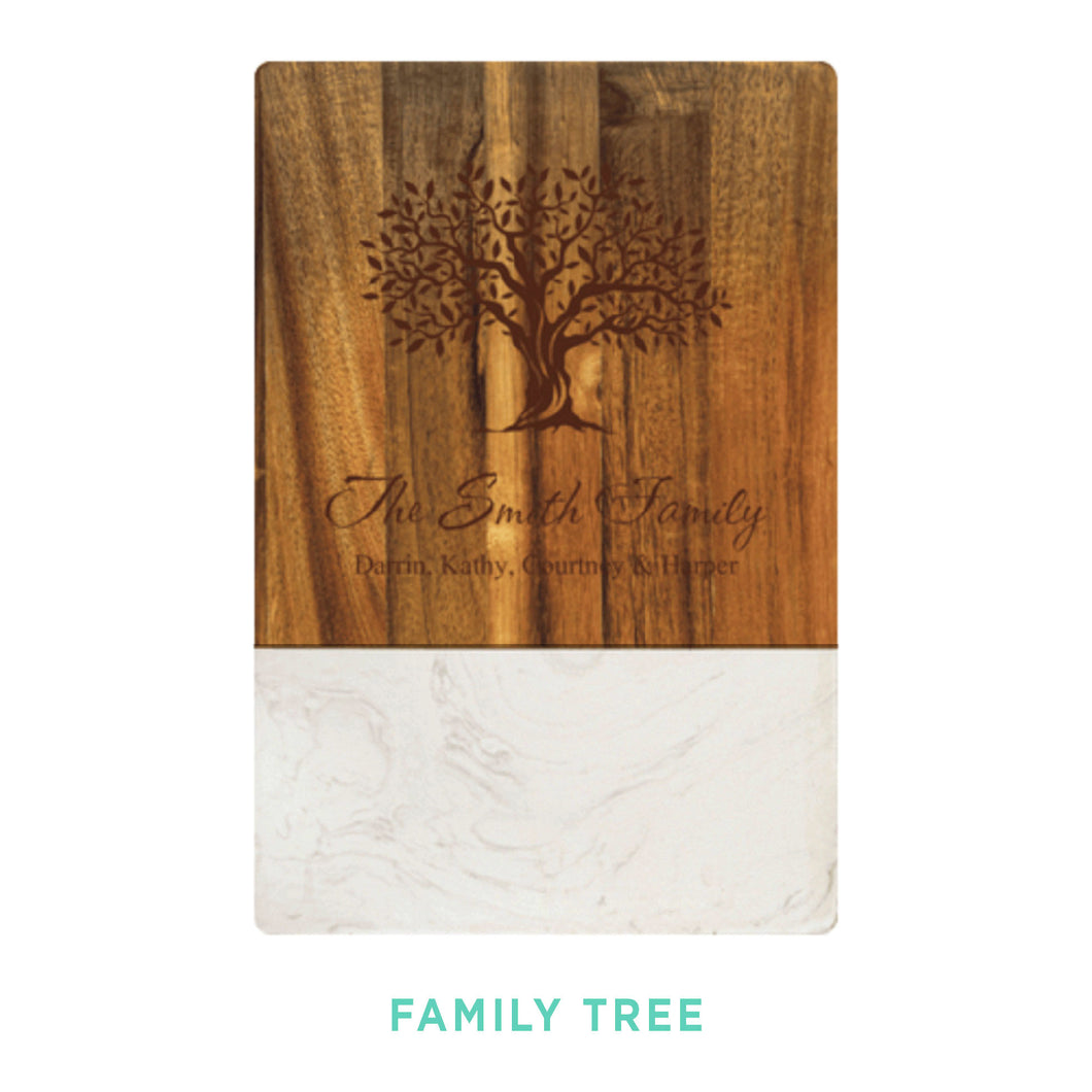 Personalized Cutting Board - Medium