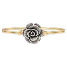 Load image into Gallery viewer, Rose Bangle Bracelet - Simply Susan's