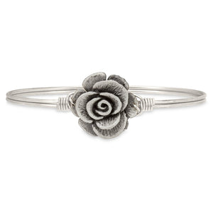 Rose Bangle Bracelet - Simply Susan's