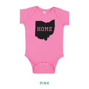 Ohio Home Serif Onesie