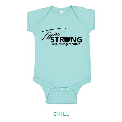 Tiffin Strong Onesie - Simply Susan's