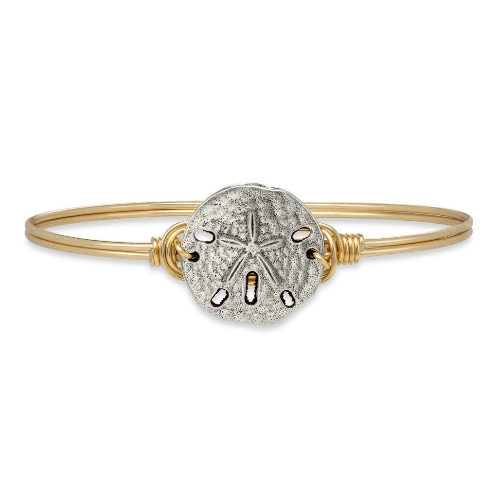 Sand Dollar Bangle Bracelet - Simply Susan's