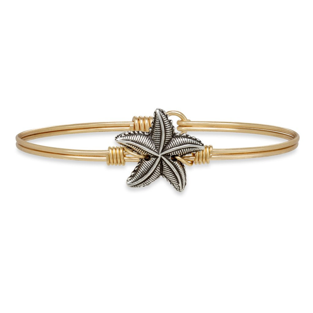 Starfish Bangle Bracelet - Simply Susan's