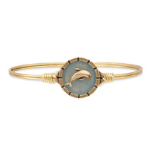 Load image into Gallery viewer, Dolphin Isla Bangle Bracelet - Simply Susan's