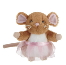 "Load image into Gallery viewer, 4"" Little Ballerina Mice - Simply Susan's"