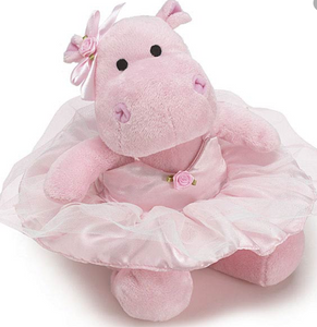 Pretty in Pink Hippo - Simply Susan's