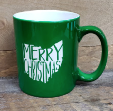 Ohio Merry Christmas Mug - Simply Susan's