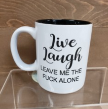 Load image into Gallery viewer, Live Laugh Leave Mug - Simply Susan's