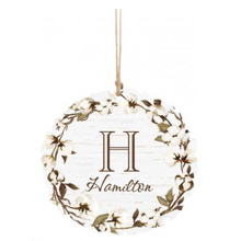 Load image into Gallery viewer, Personalized Wreath Ornament