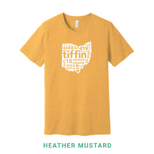 Tiffin Ohio Crew Neck T-Shirt