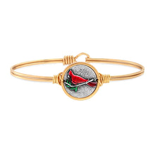 Load image into Gallery viewer, Red Cardinal Bangle Bracelet