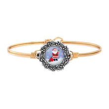 Load image into Gallery viewer, Santa Bangle Bracelet
