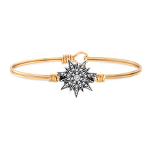 Load image into Gallery viewer, North Star Bangle Bracelet