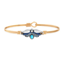 Load image into Gallery viewer, Firefly Bangle Bracelet
