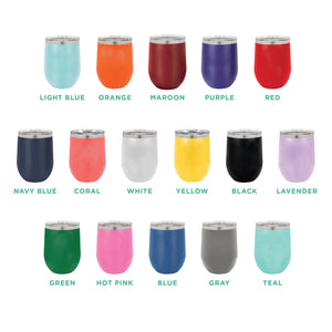 Bless This Mess 12oz Wine Tumbler