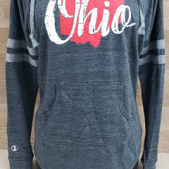 Ohio Charcoal Gray Hoodie - Simply Susan's