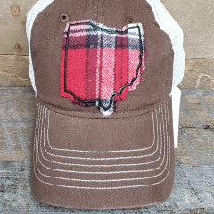 OHIO HAT TRUCKER BROWN CHRISTOPHER