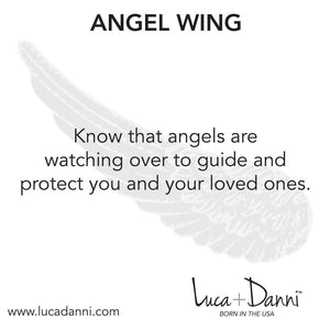 Angel Wing  Bangle Bracelet - Simply Susan's