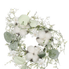 "3.5"" Cotton Eucalyptus Accent - Simply Susan's"