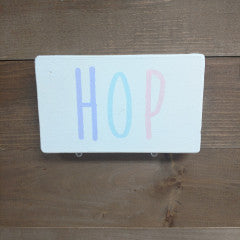 3x5 HOP Cream Sign - Simply Susan's
