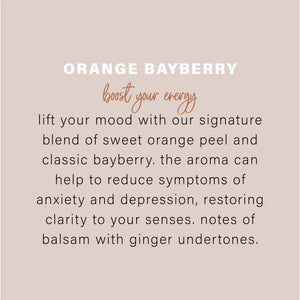 Essential Oil Candle - Orange Bayberry 9oz - Simply Susan's
