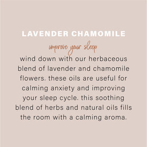 Essential Oil Candle - Lavender Chamomile 9oz - Simply Susan's