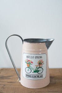 Cream Pitcher 9in