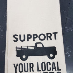 Support Your Local Farmer Tea Towel - Simply Susan's