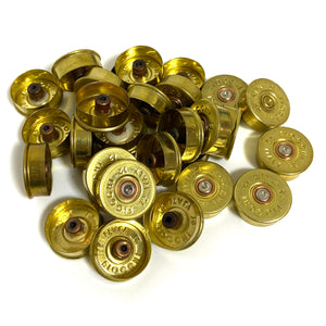12 Gauge Fiocchi Headstamps Gold Brass