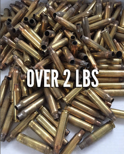 223 Empty Spent Brass Bullet Casings