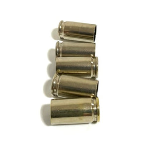 9MM Nickel Empty Brass Shells Used Bullet Casings 9X19 Luger Fired Spent Pistol Ammo Cleaned Polished DIY Bullet Jewelry Ammo Crafts 100 Pieces  | FREE SHIPPING