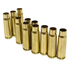 7.62x39 AK-47 Brass Shells Polished Tumbled Used Spent Casings