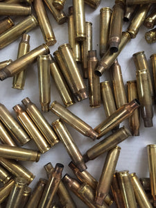 223 5.56 Empty Spent Brass Bullet Casings Used Shells Fired Qty 2lbs