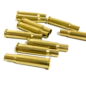 Polished Brass Casing For Bullet Jewelry 30-30
