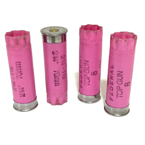 Pink Shotgun Shell 12 Gauge Empty Pink 12GA Hulls Shotshells Spent Casings Shot Gun Ammo Cartridges DIY Ammo Crafts 10 Pcs | FREE SHIPPING