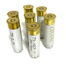 Load image into Gallery viewer, High Brass Shotgun Shells White With Gold Bottoms