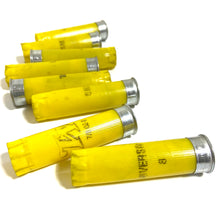Load image into Gallery viewer, Empty Yellow Shotgun Shells for Wedding Boutonnieres