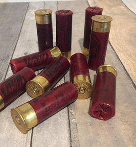Red Shotgun Shells Fake Dummy Rounds