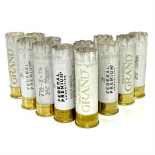 Load image into Gallery viewer, Solid White Federal 12 Gauge Empty Shotgun Shells 12GA Hulls