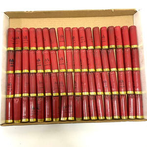 Qty 364 pcs - Red / Trans / Blue Shells Used 12 Gauge Hulls w/Spent Primer - Shipping Included