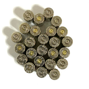 Headstamps 40 Caliber Nickel Plated Brass
