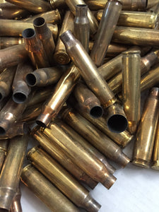 223 5.56 Empty Spent Brass Bullet Casings Used Shells Fired Qty 2lbs | FREE SHIPPING