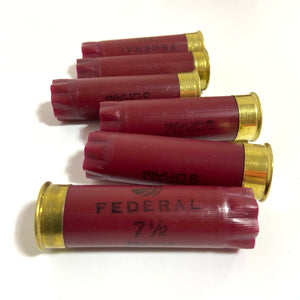 DIY Shotgun Shell Boutonnieres Maroon Red