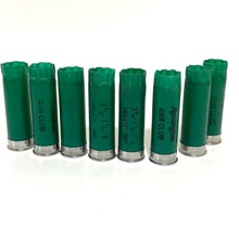 Load image into Gallery viewer, Empty Green Shotgun Shells 12GA