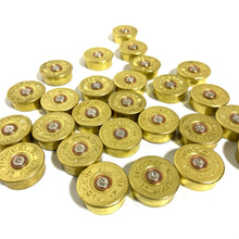 Load image into Gallery viewer, Fiocchi Italy 12 Gauge End Caps Brass Bottoms