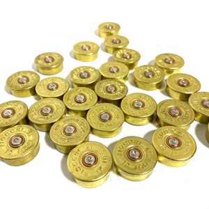 Fiocchi Italy 12 Gauge End Caps Brass Bottoms