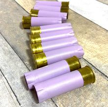 Load image into Gallery viewer, Recycled Shotgun Shells Light Purple