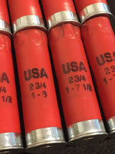 Load image into Gallery viewer, Once Fired 12GA Hulls Winchester Red USA Hulls