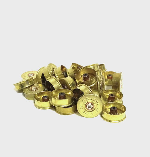 Brass Headstamps Gold Bottoms 12 Gauge